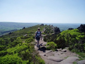 On the Roaches ridge