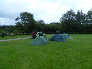 Camping at Lochy Holiday Park