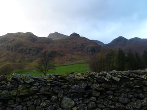 Langdale Pikes from Langdale