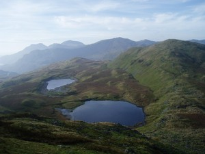 The Moelwyns from Moel Penamnen