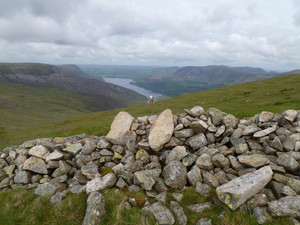 Ennerdale from the ascent to Scoat Fell