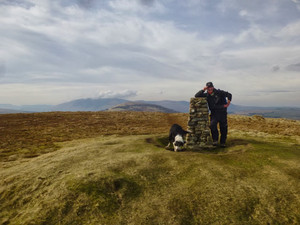 The summit of Little Mell Fell