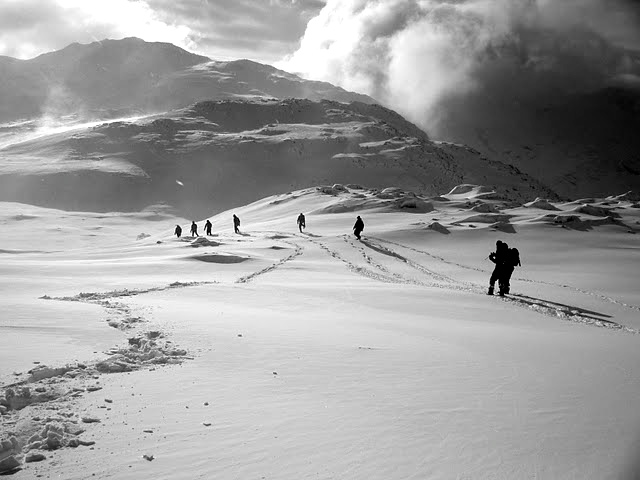 Seathwaite, January 2010, Photograph by Matthew Graham