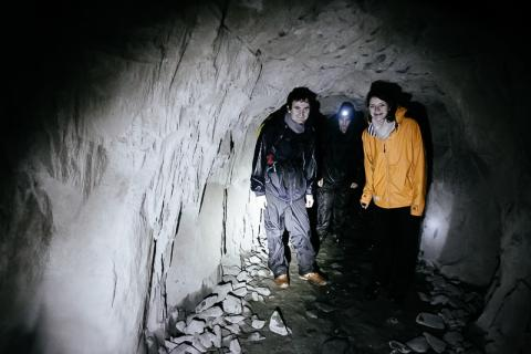 Hill Walkers did Cave Walking
