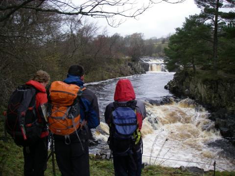 Viewing Low Force in the rain